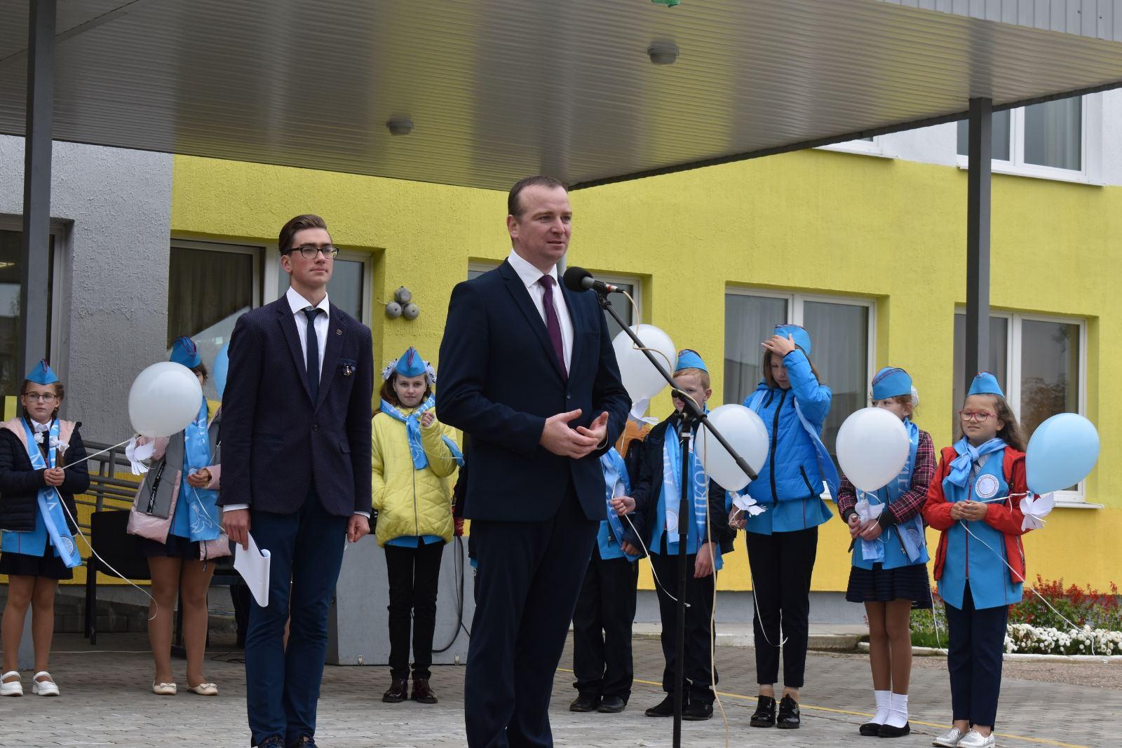 Обольской средней школе присвоен статус «Школа мира»