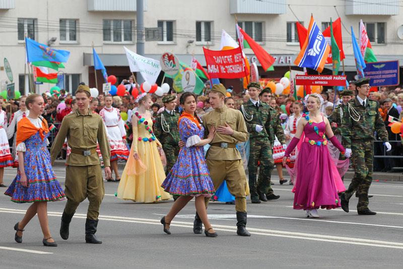 Витебск праздничный