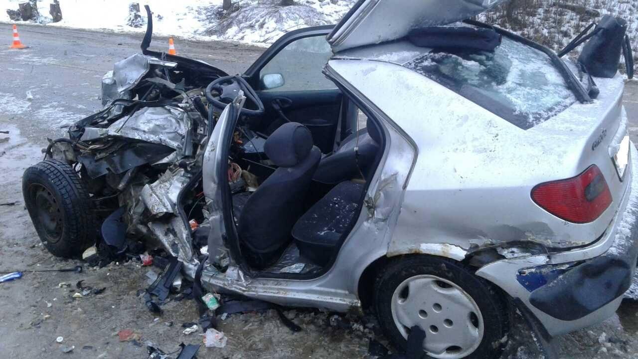 Кошмарная авария под Лепелем: один человек умер, трое госпитализированы вбольницу